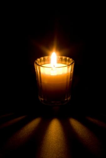 Yom HaShoah Memorial Candle